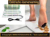 Elektrische en infrarood vloerverwarming systemen
